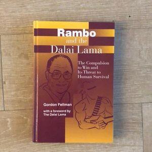 Rambo and the Dalai Lama hardback book